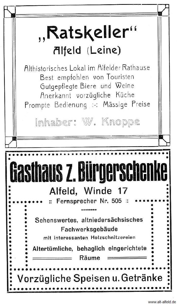 Alfelder Werbung   alt-alfeld.de