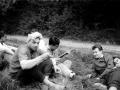 Fanfarenzug1960-01-Himmelfahrt_bei_Brüggen