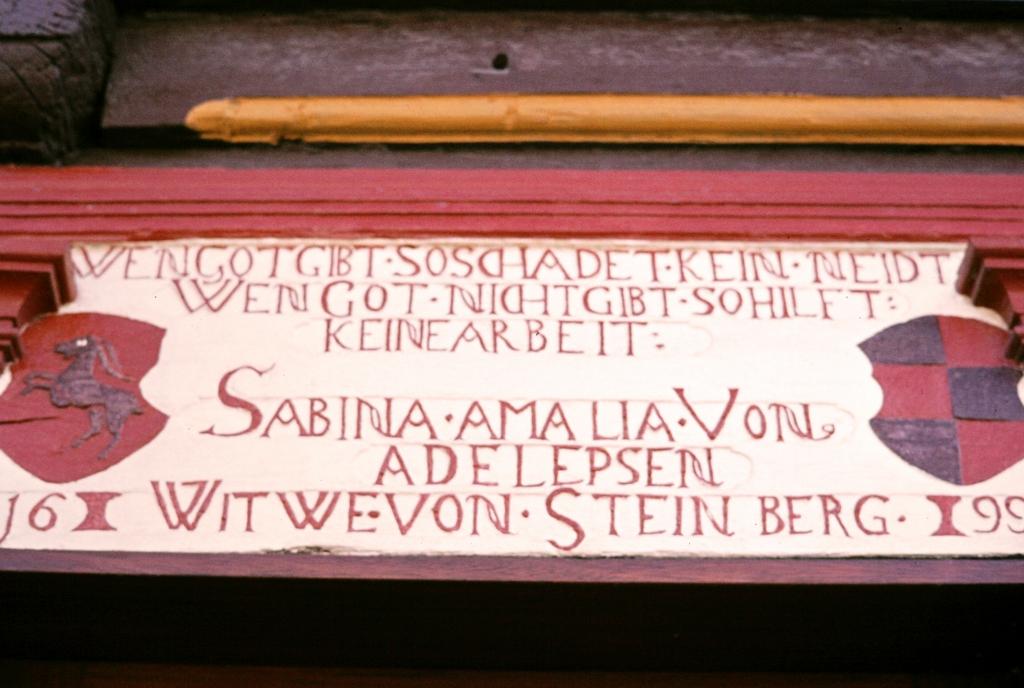 AmKlinsberg1979-01-Nr.6-SteinbergschesHaus_Türinschrift