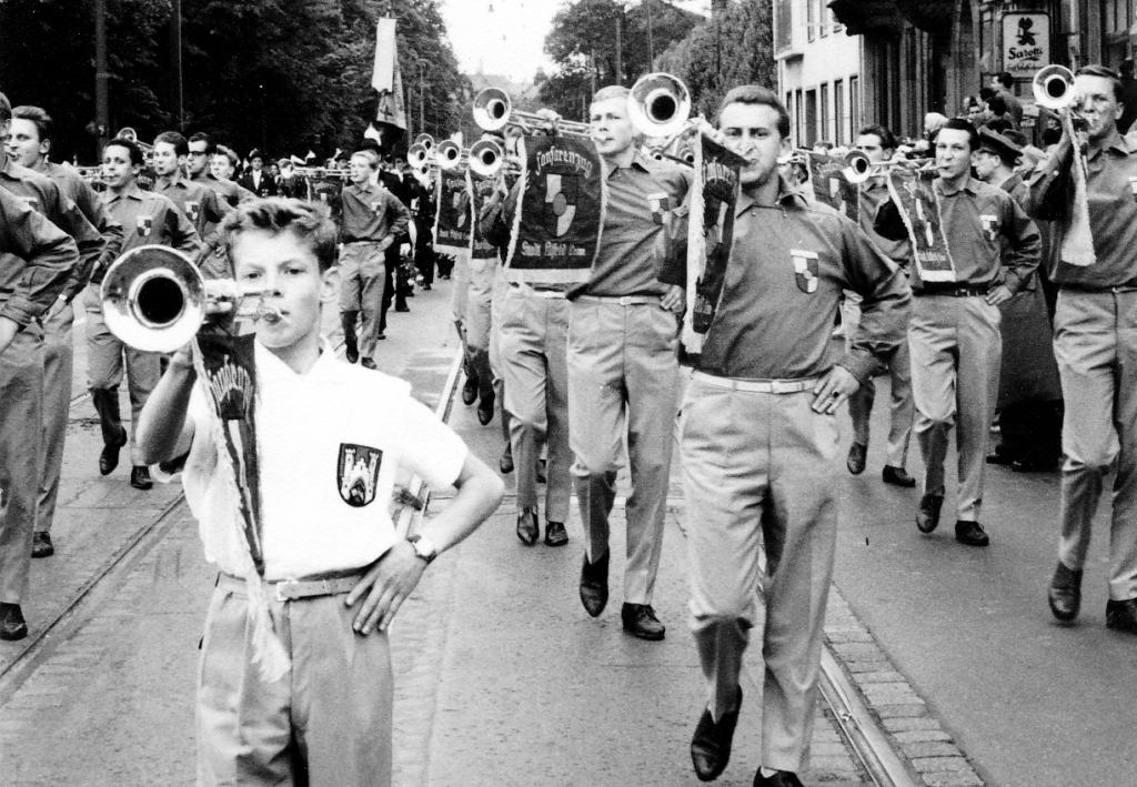 Fanfarenzug1960-05-Hannover