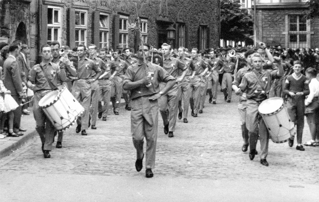 Fanfarenzug1960-11-Rinteln