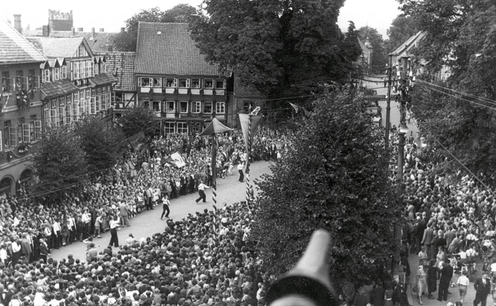 Freischießen1951-03-Marktplatz