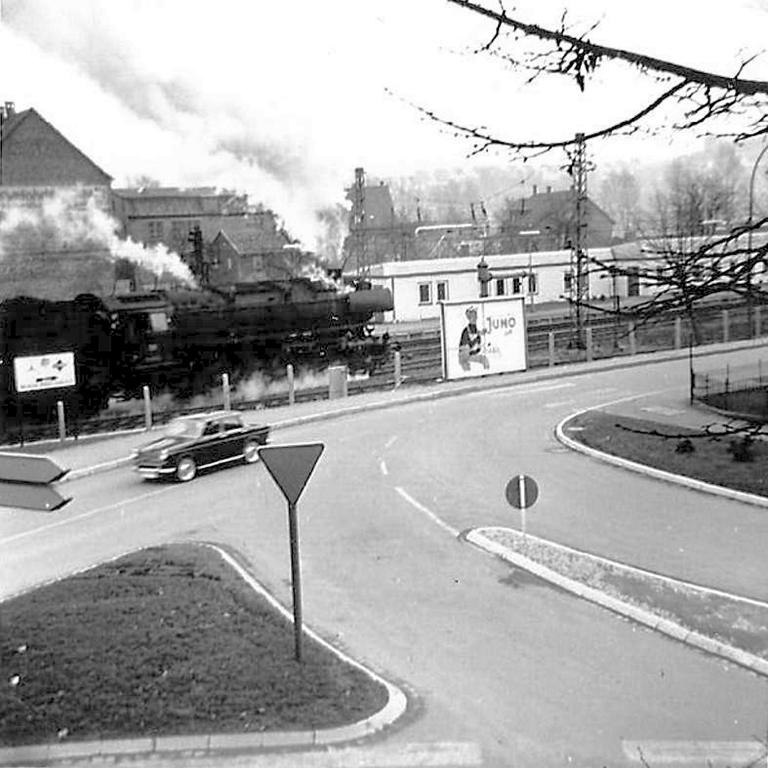 GöttingerStr1964-02-HannoverscheStr-neueVerkehrsführung