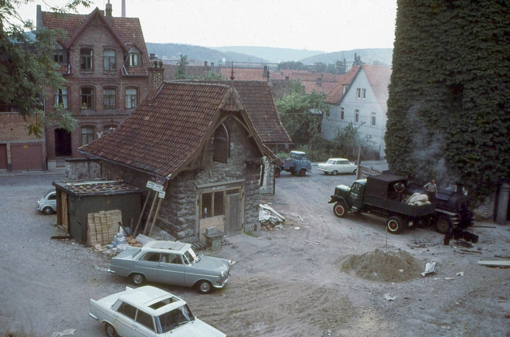 Landratsamt1964-08-AbrissPferdestall
