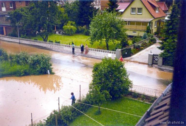 Leinehochwasser1981-23-Brunnenweg