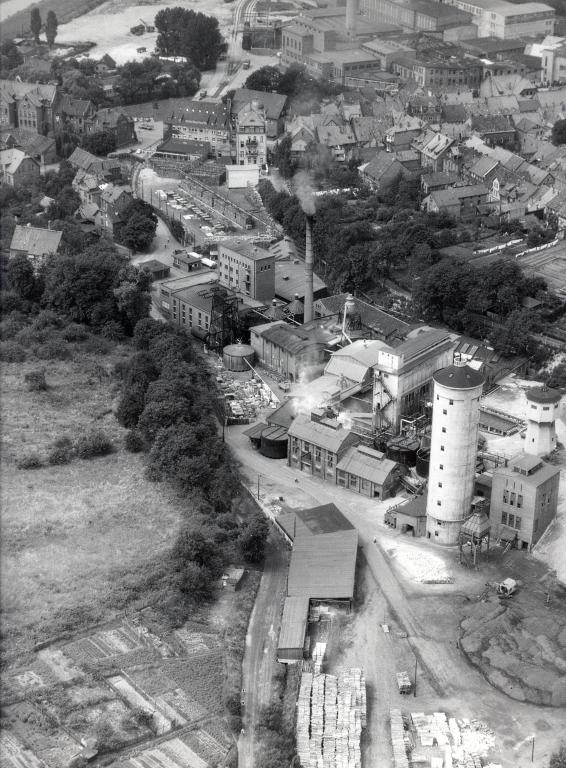 Luftbild1950er-10-Zelluslosefabrik