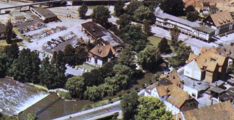 Luftbild1960er-16-Papierfabrik