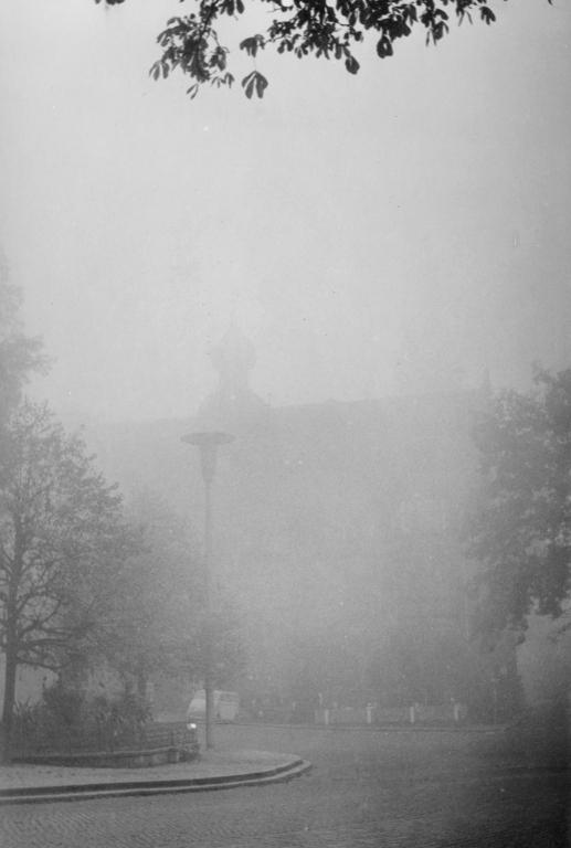 Marktplatz1962-02-Nebel
