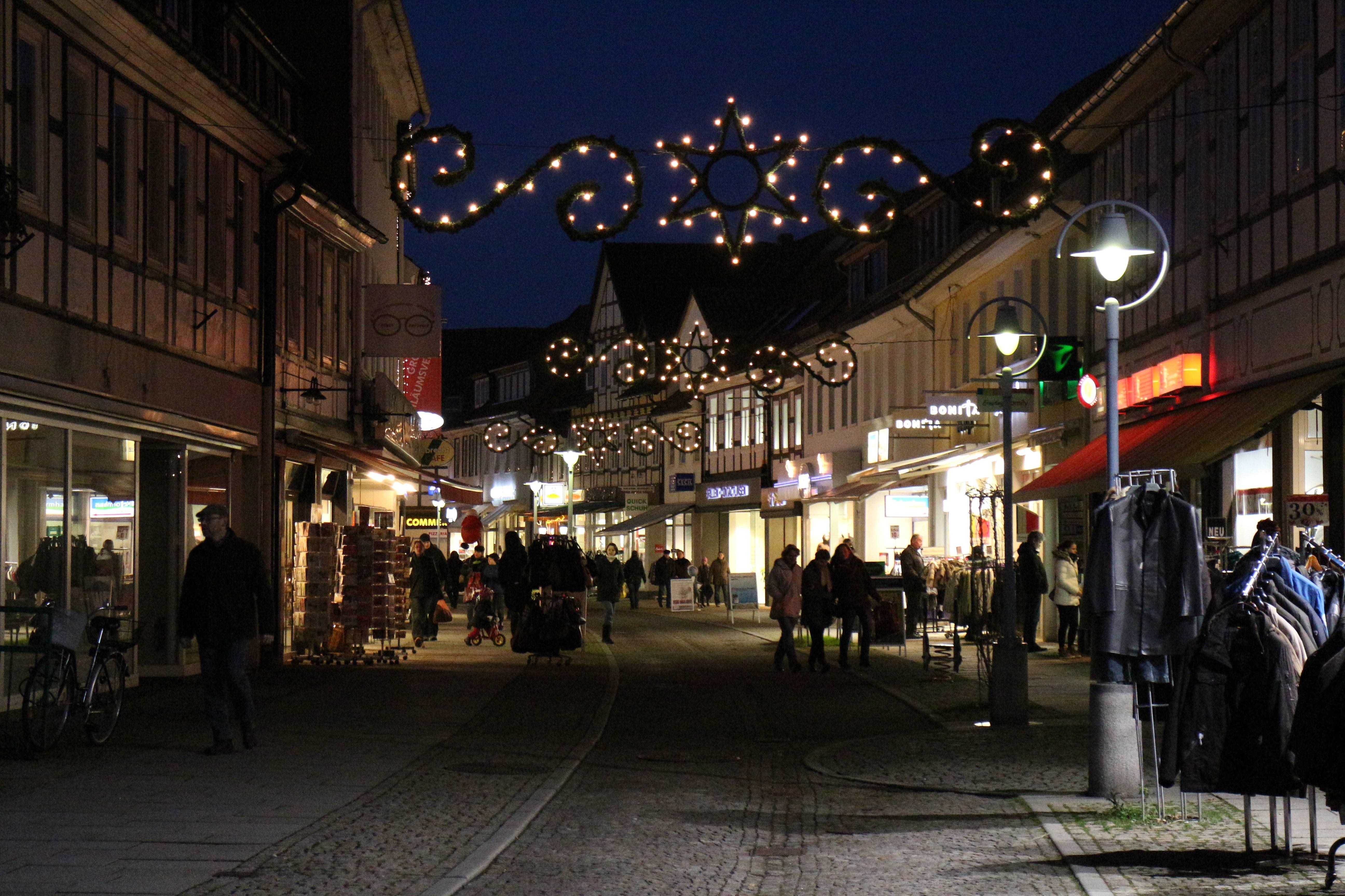 Ab Wann Weihnachtsbeleuchtung.Weihnachtsbeleuchtung Alt Alfeld De