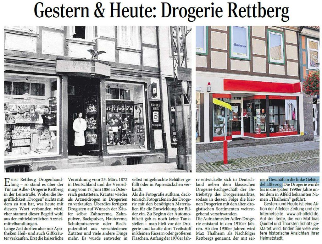 AZ vom 02.04.2015-gestern-heute-Drogerie Rettberg