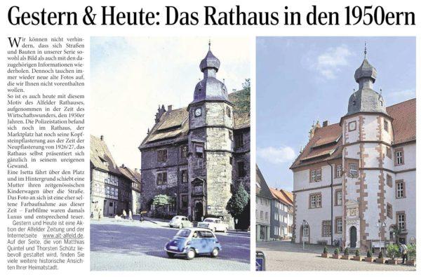 AZ vom 02.07.2015-gestern+heute-Rathaus 1950er Jahre