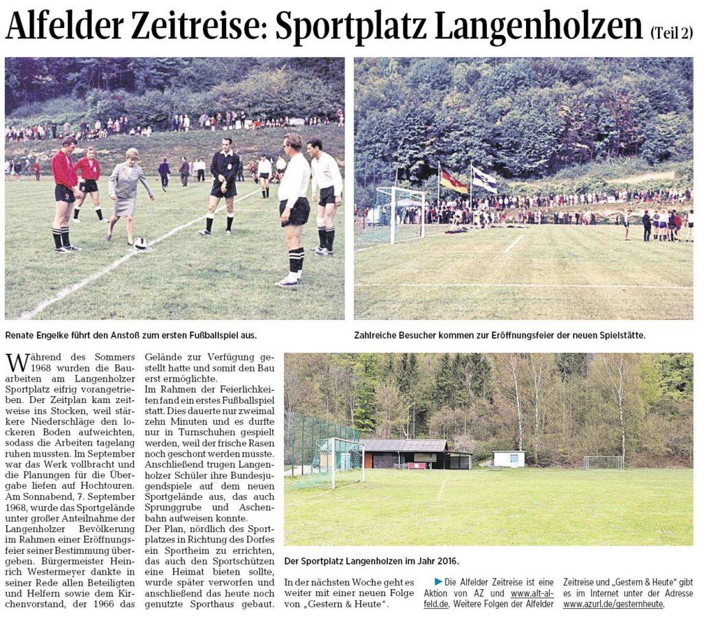 AZ vom 04.05.2016-Alfelder Zeitreise-Sportplatz Langenholzen Teil 2