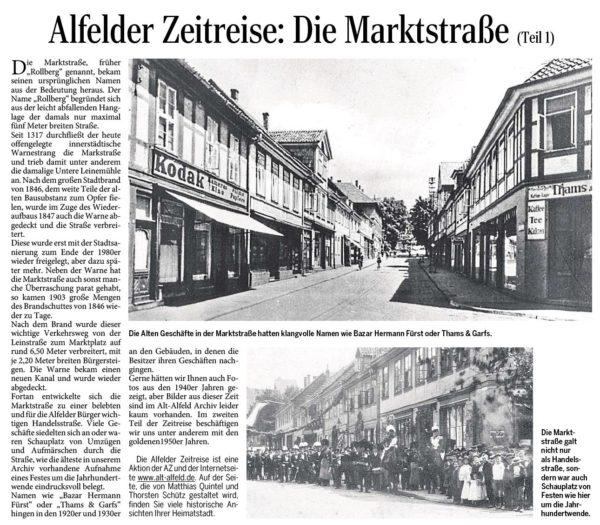 AZ vom 04.06.2015-Alfelder Zeitreise-Marktstraße Teil 1