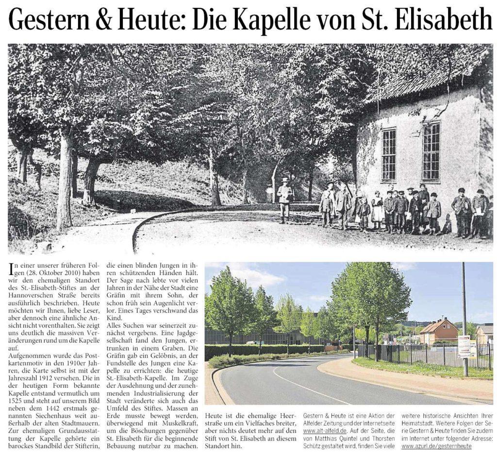 AZ vom 06.08.2015-gestern+heute-St. Elisabeth Kapelle