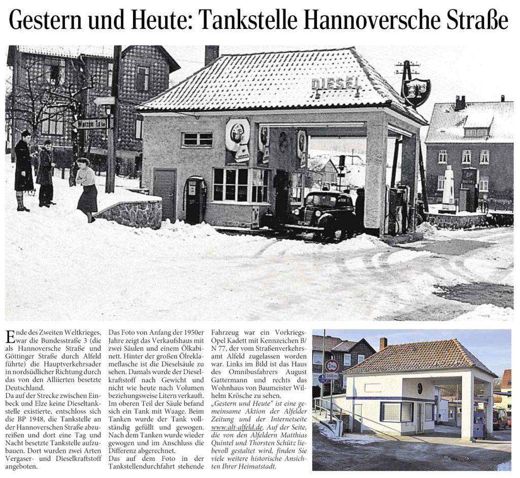 AZ vom 08.05.2014-gestern+heute-Tankstelle Hannoversche Straße