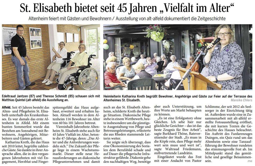 AZ vom 09.07.2014-45 Jahre St. Elisabeth Ausstellungseröffnung