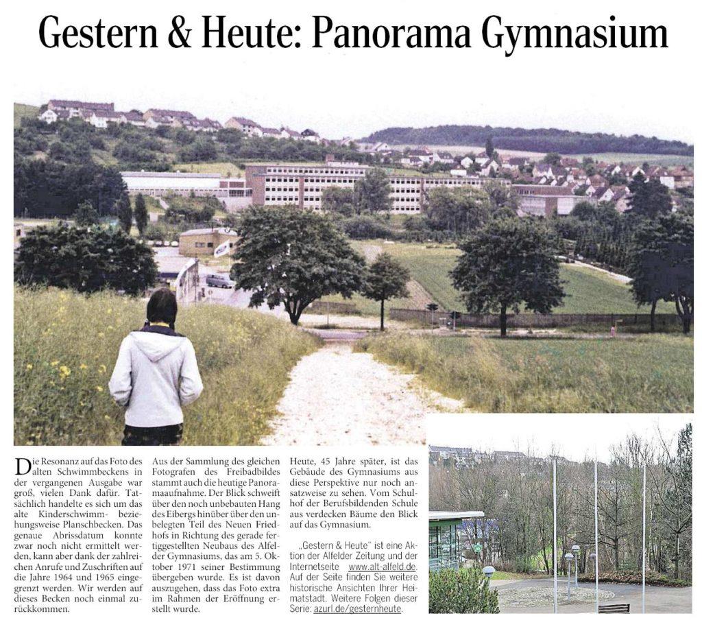 AZ vom 11.02.2016-gestern+heute-Panorama Gymnasium