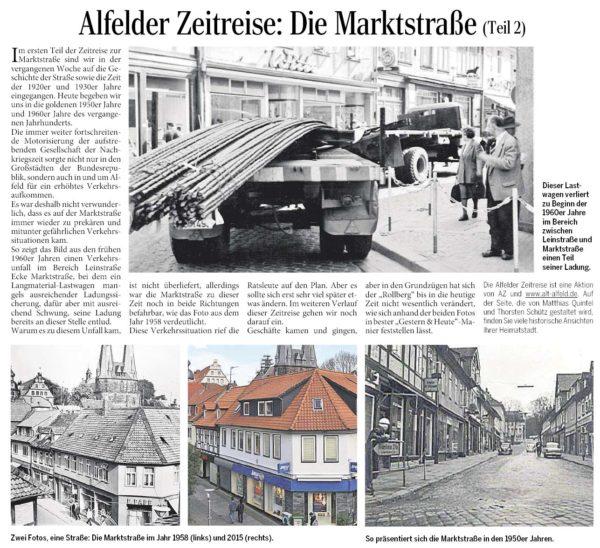 AZ vom 11.06.2015-Alfelder Zeitreise-Marktstraße Teil 2