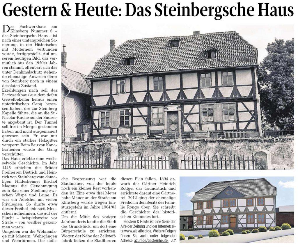 AZ vom 12.05.2016-gestern+heute-Steinbergsches Haus