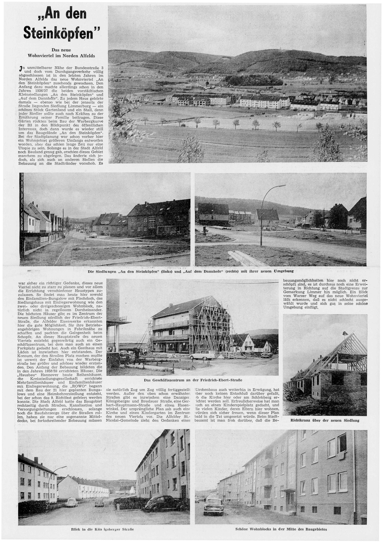 AZ vom 16.05.1964-Steinköpfen-Das neue Wohnviertel