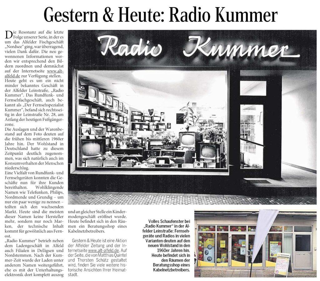 AZ vom 19.03.2015-gestern+heute-Radio Kummer