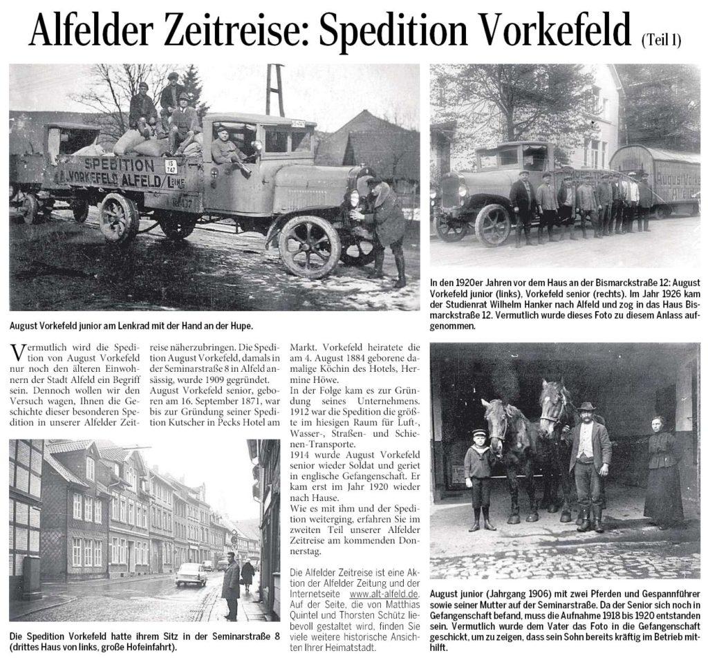 AZ vom 20.08.2015-Alfelder Zeitreise-Spedition Vorkefeld Teil 1