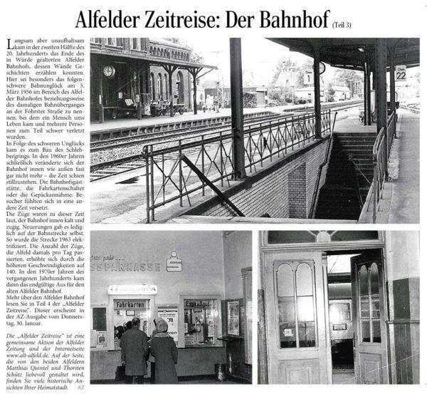 AZ vom 23.01.2014-Alfelder Zeitreise-Der Bahnhof Teil 3