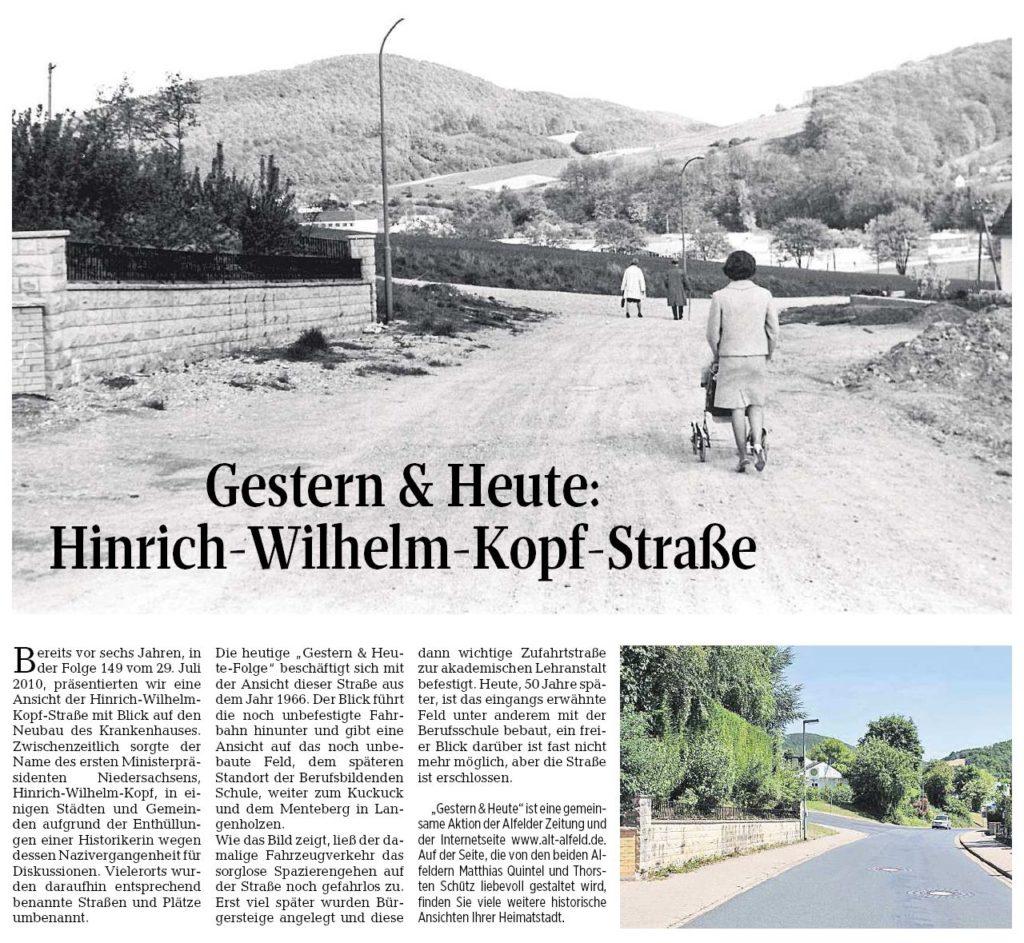 AZ vom 26.05.2016-gestern-heute-Hinrich-Wilhelm-Kopf-Straße