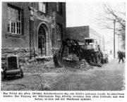AZ vom 30.01.1965-Realschule Abriss Eingangsportal