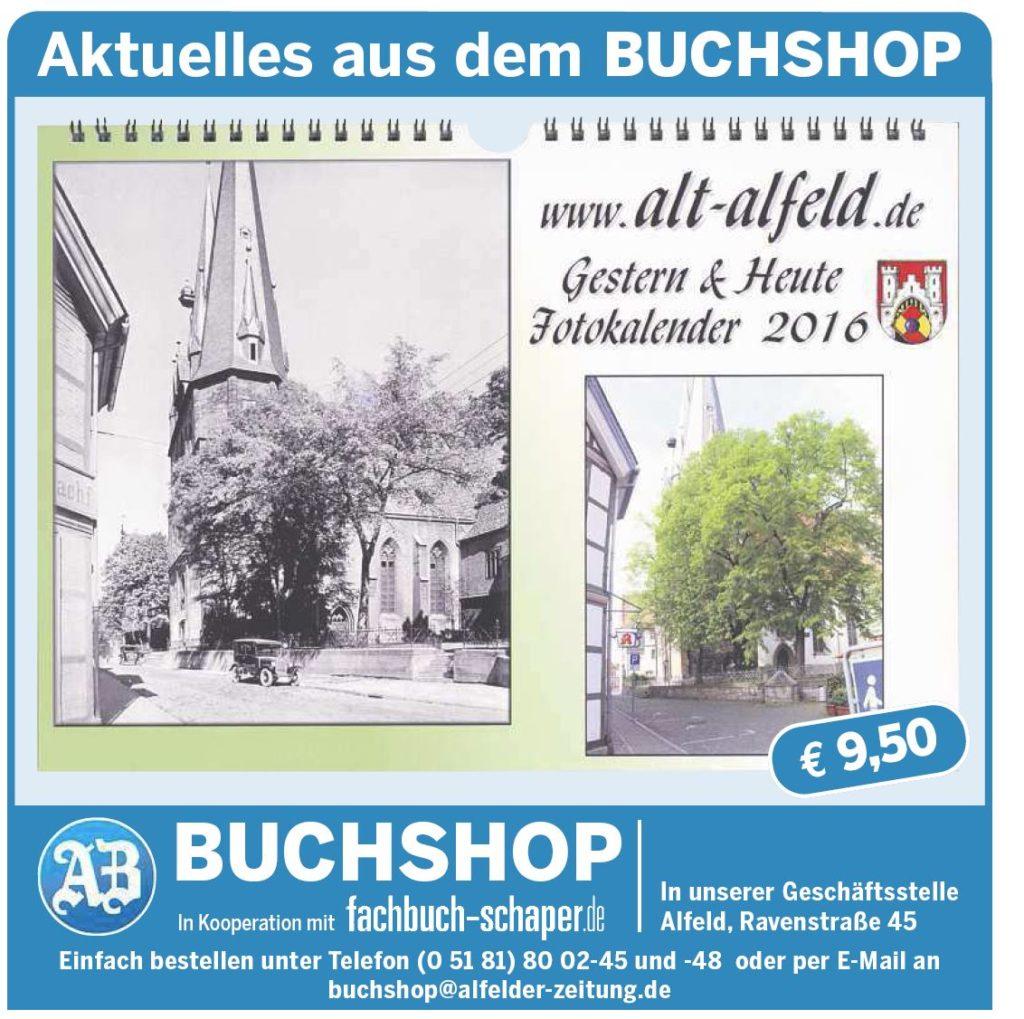 AZ vom 30.09.2014-alt-alfeld-Dobler Buchshop Kalender 2016