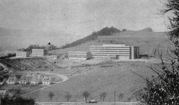 Der größte Alfelder Bau des Jahres: das neue Krankenhaus auf dem Eiberg