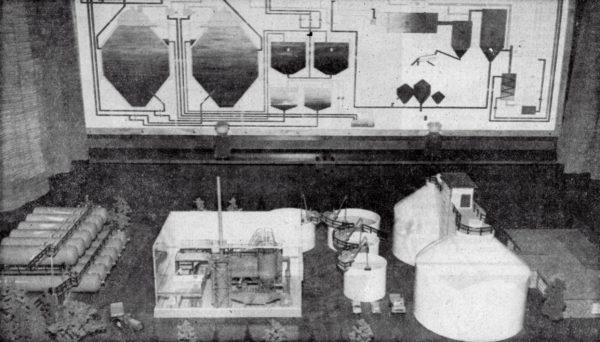 Von Fachleuten und Laien bewundert wurde das Modell der Klärschlammtrocknungsanlage der Alfelder Eisenwerke auf der Hannover-Messe