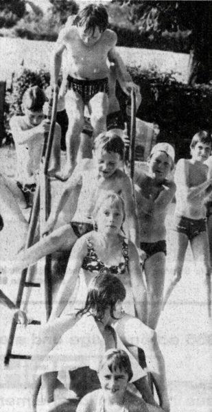 Trotzdem etwas Spaß an den wenigen Sonnentagen in den Sommerferien 1978
