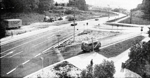 JULI: Der Walter-Groplus-Rlng In Alfeld Ist fertlgge.tellt. Nun fehlt zur Entlastung der Innenstadt noch die Nordtangente
