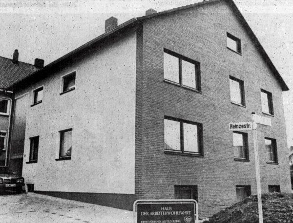 OKTOBER: Awo-Bundesvorsltzender Kurt Partzach weihte das Haus der Sozialarbeit In Alfeld ein