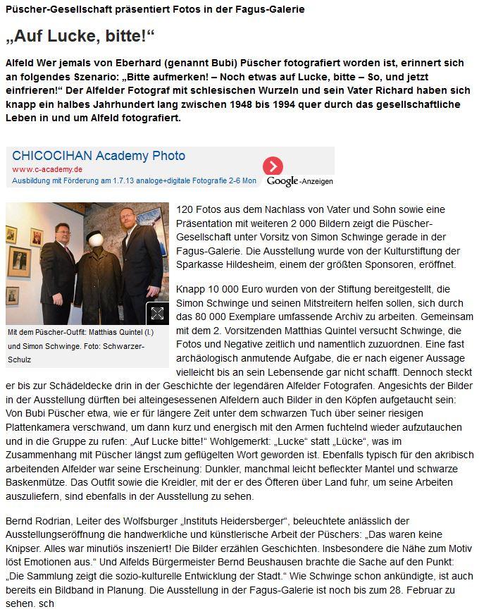 Leinetal24online vom 16.12.2013-VfH-Püscher-Ausstellungseröffnung