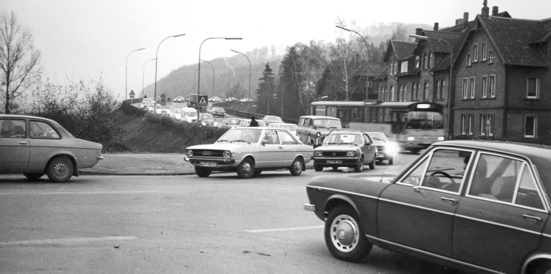 Normaler Nachmittagsverkehr im Jahr 1978